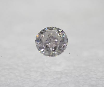 Certified 1.21 Carat F SI2 Round Brilliant Enhanced Natural Loose Diamond 6.59mm