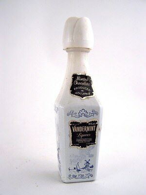 Miniature circa 1974 VANDERMINT MINTED CHOCOLATE LIQUEUR Isle of Wine