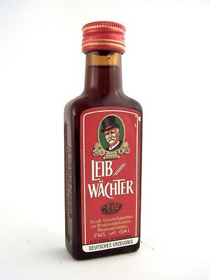 Miniature circa 1978 LEIB WACHTER German Herbal Liqueur Isle of Wine