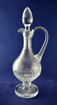 "Tyrone Crystal ""DERAMORE"" Master Cutter Round Decanter – 37cms (14-1/2″) Tall"