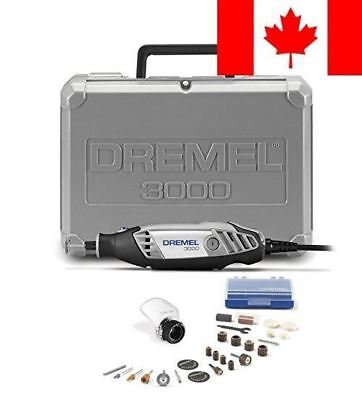 Dremel 3000-1/25 120-volt Variable Speed Rotary Tool Kit with 1 Attachment an...