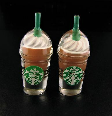 Miniature Fairy Garden Chocolate Specialty Drinks - Set of 2 - Buy 3 Save $5