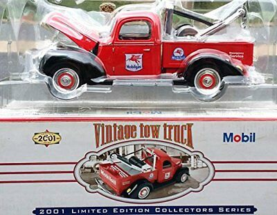 Mobil Vintage Tow Tank Coin Bank 2001 Limited Edition Collectors Series Gas Oil