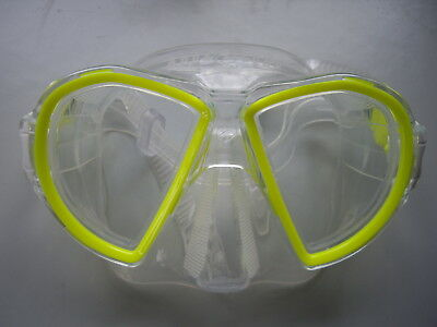 Aqua Lung Duetto Sport Diving Swimming Snorkelling Googles Mask Scuba