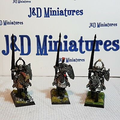 Games Workshop Warhammer Fantasy Battle Warriors of Chaos Knights Painted  Lot 7