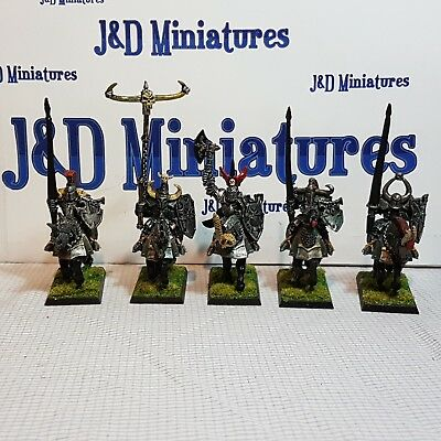 Games Workshop Warhammer Fantasy Battle Warriors of Chaos Knights Painted  Lot A