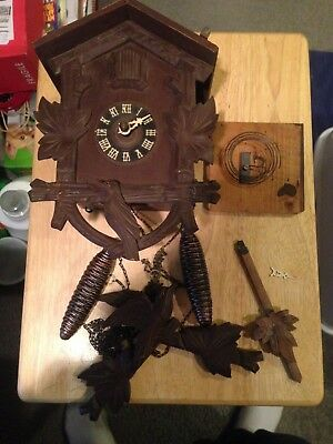 Vintage Regula Cuckoo Clock Made In Germany Being Sold As /is