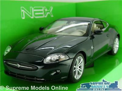 Jaguar Xk Coupe Model Car 1:24 Scale Green Welly Nex Opening Parts Large Xk8 K8