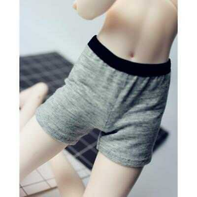 1/4 Scale BJD Dolls Gray Shorts Pants for SD MSD DOD LUTS Doll Clothes