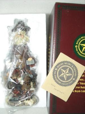 """1998 Boyds Folkstone #28002 """"execunick..the First Global Business Man"""" Santa"""