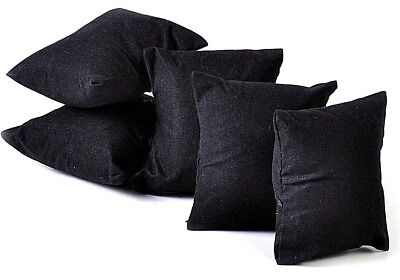 Velvet Ring/watch Display Pillows, Set Of 5, Each Measures 3 1/4 X 2 1/4, New!!