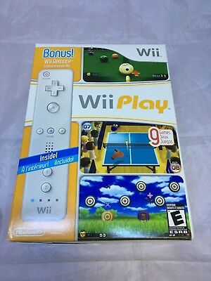 Wii Play Bundle Nintendo Wii, 2007