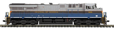 HO MTH Central of Georgia ES44AC Diesel for 2 Rail DCC Ready 80-2337-0