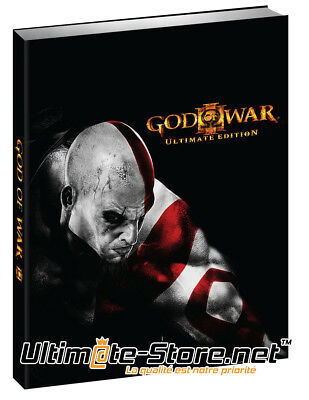 God of War 3 III Ultimate Edition Guide Neuf