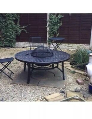 New Boxed Jamie Oliver HARTMAN RIPLEY FIRE PIT TABLE NO CHAIRS