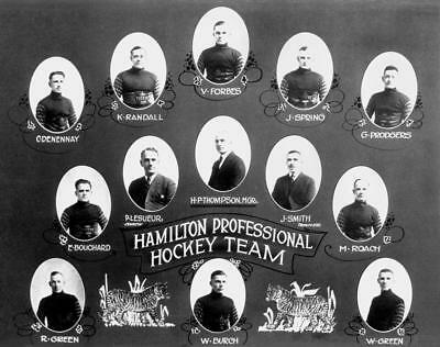 1924 Hamilton Professional Hockey Team Photo 8X10