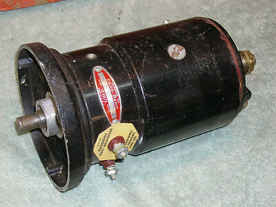 1950s-60s  Cessna/Beechcraft Delco Double Ended Generator. NEW.