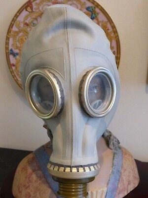 Military Soviet Russian Ussr Rubber Gas Mask Size 3Y