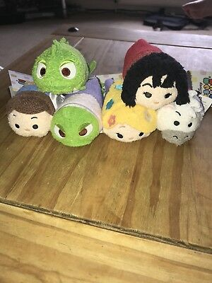 Tsum Tsum Tangled set - Brand New With Tags