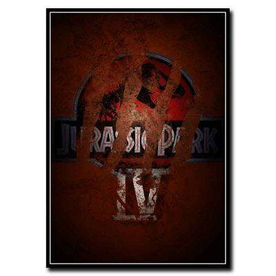 Jurassic Park 24x36inch Classic Movie Silk Poster Large Size Art Print Cool Gift