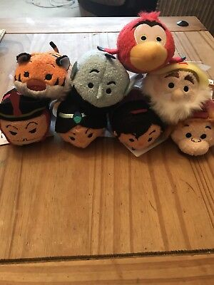 Tsum Tsum Aladdin set - Brand New With Tags