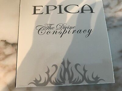 the divine conspirancy LTD dijipack white cover  EPICA 2 CD SET ( FREE SHIPPING)