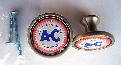 Allis Chalmers Cabinet Knobs, A-C Logo Cabinet Knobs, Allis Chalmers Tractors