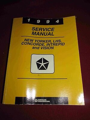 1994 dodge intrepid service repair workshop manual download