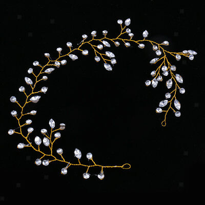 Elegant Bridal Wedding Crystal Headpiece Headwear Lady Girls Hair Accessories
