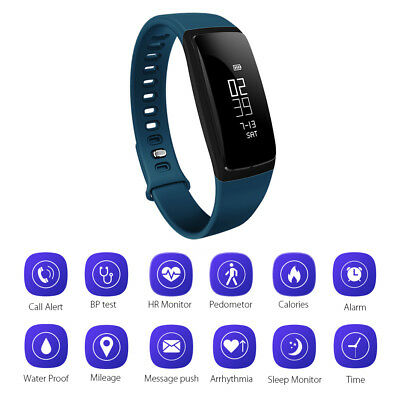 Smart Watch Sports Band Blood Pressure Heart Rate Fitness Activity Tracker AC808