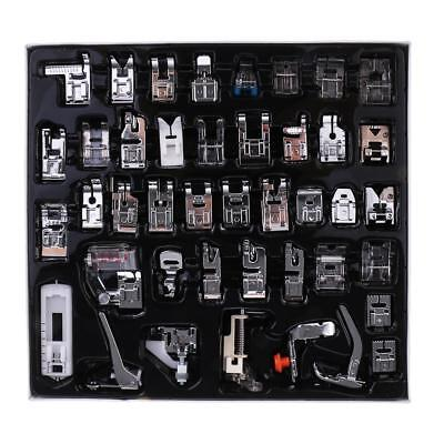 42pcs Multi Function Domestic Sewing Machine Presser Foot Feet Accessory Set