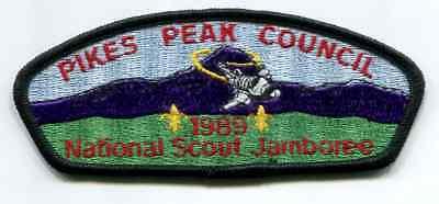 Jsp From 1989 Jamboree From Pikes Peak Council