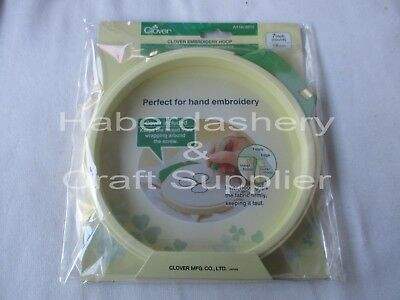 Clover Embroidery Hoop *for Hand Embroidery 18Cm 8812