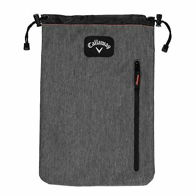 Callaway Shoe Pack Case Sack Holdall Unisex Boot Zip Drawstring Sport
