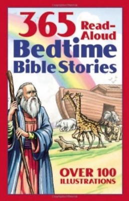 Bedtime Bible Story Easy to Understand Best Loved Paperback Illustrated for Kids