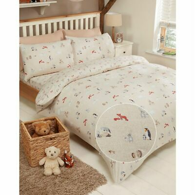 Linens and Lace Stamp Bedset Unisex Duvet Cover Set