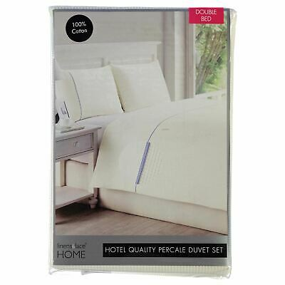 Linens and Lace Waffle Duvet Set Unisex Cover Cotton
