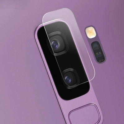 2PCS Tempered Glass Camera Lens Protector For Samsung Galaxy S9 / S9 Plus S9+