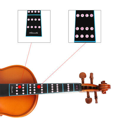 4/4 Violin Fingerboard Sticker Guide Fretboard Marker For Fiddle Finger Beginner