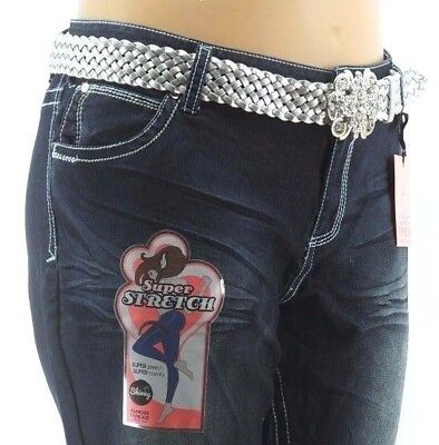 NEW $54 CLEARANCE Almost Famous Sze 22 Super Comfy Stretch Skinny Bootcut Jeans