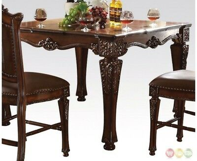 Vendome Formal 54 Square Counter Height Dining Table In