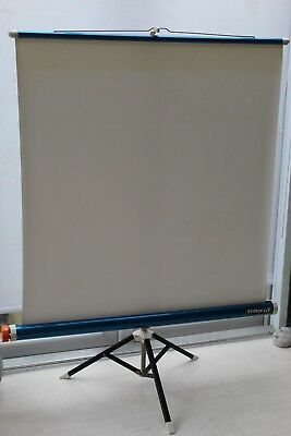 Reflecta Lux Vintage Projection Screen, for Home Movie 8mm Films + Other Formats