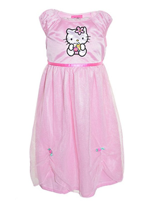 NEW Hello Kitty Girls Nightgown - LIGHT PINK - 2T / 3T / 4T/4