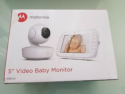 Motorola MBP50 Video Baby Safety Monitor with Parent Curved LCD