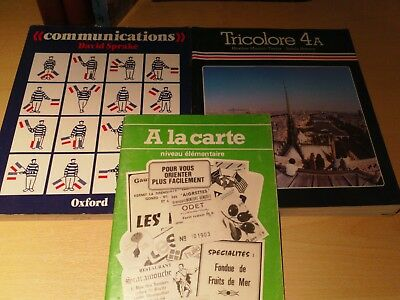 French language books learn french job lot of 6 text books plus french language books learn french job lot of 6 text books plus 1 german fandeluxe Gallery