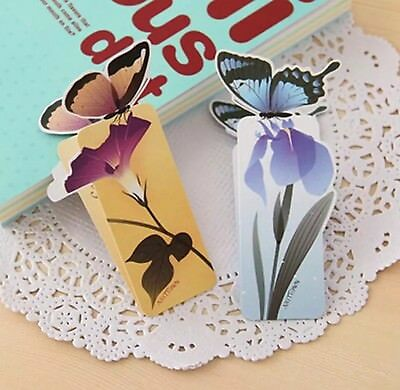Bookmarks.Butterfly 3D Shape Bookmarks.Book holder. Perfect Gift for Readers.