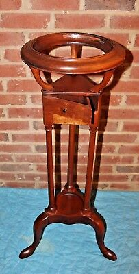 Bartley Collection Antique Reproduction Wood Plant Stand
