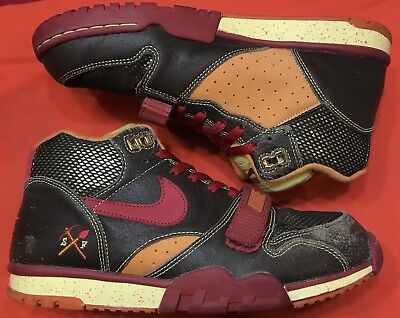 purchase cheap 181f0 348a6 ... coupon code for nike air trainer 1 sb gold diggers huf paprika brown  red 306193 261