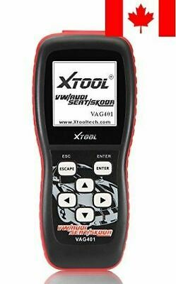 Xtool Vag401 Live Data OBDII OBD2 Car Diagnostic Tool For Vw Audi Seat and Sk...