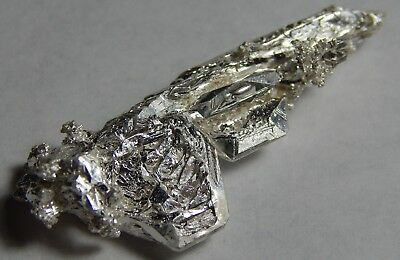 Amazing 6.09 Grams of .999 crystalline silver crystal nugget 99.999% pure